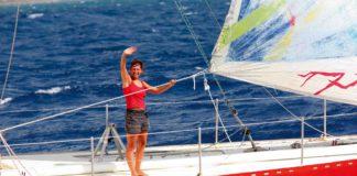 Maud Fontenoy témoigne de son combat contre le cancer @La navigatrice Maud Fontenoy