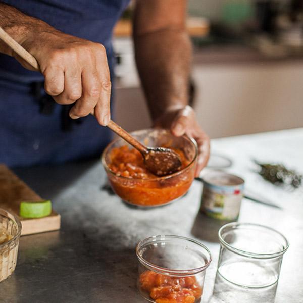 Petits plats hâchés pour les malades de cancer © Jean-Yves Salabaj