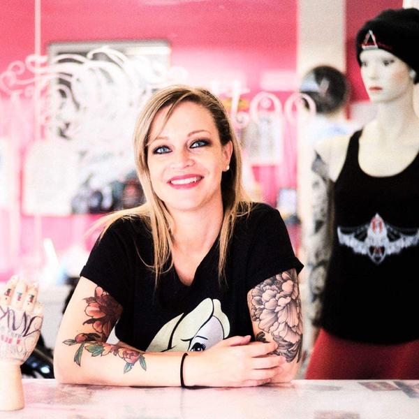 La tatoueuse Alexia, alias