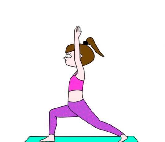 Des postures simples pour démarrer le yoga @Illustrations par Audrey MillerRoseUp Association Face aux cancers osons la vie
