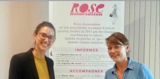 """Rose Coaching Emploi© @Jenna Boitard, directrice de la Maison Rose, en compagnie de Charlotte Pansin-Jourdan, directrice-adjointe de l'association """"Un rien c'est tout"""""""