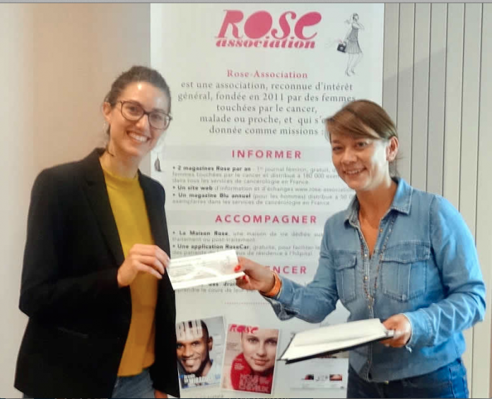 Rose Coaching Emploi© @Jenna Boitard, directrice de la Maison Rose, en compagnie de Charlotte Pansin-Jourdan, directrice-adjointe de l'association