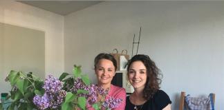 Elodie, socio-esthéticienne, et Laure, infirmière, les jolies fées de la Holi RoseUp Association Face aux cancers osons la vie