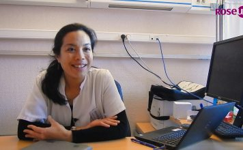 Aurore Marcou, médecin anesthésiste réanimateur à l'intitut Curie, soulage des patients atteints de cancer par l'hypnose - roseup association - face aux cancers osons la vie