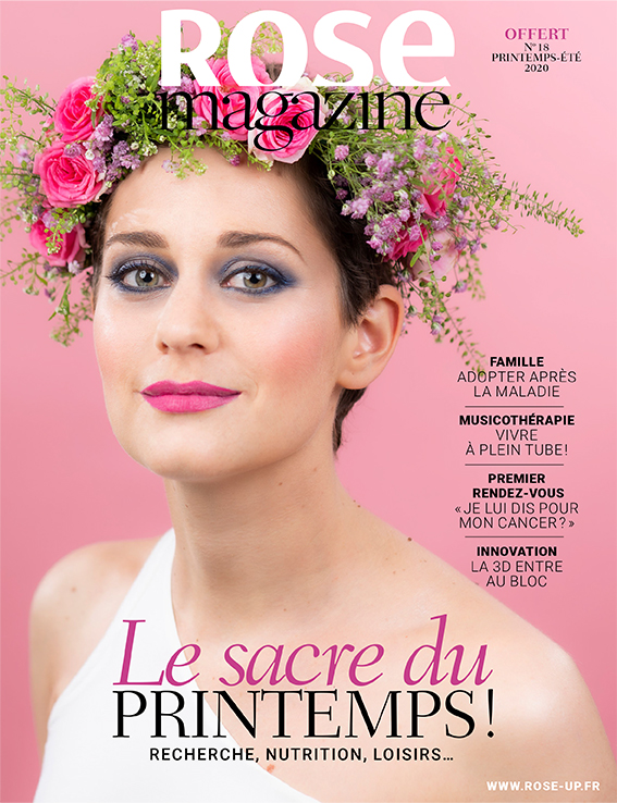 couverture rose magazine 18 RoseUp Association