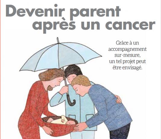 """La fondation ARC en partenariat avec RoseUp publie cette année le livret """"devenir parent après un cancer"""" - roseup association, face aux cancers osons la vie"""