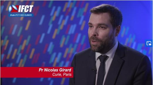 Pr Nicolas Girard, pneumologue à l'Institut Curie - roseup association - rose magazine - face aux cancers osons la vie