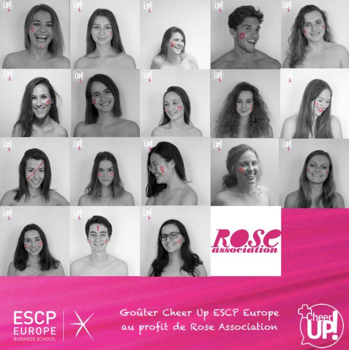 Cheer Up ESCP Europe RoseUp association Rose magazine