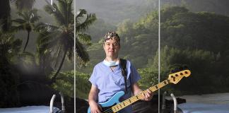 Francois, infirmier anesthésiste, passionné de musique- roseupassociation - face aux cancers osons la vie