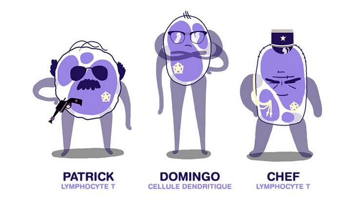 Immunotoon explique l'immunothérapie en dessin animé - roseup association