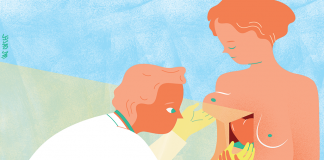 Adèle a vécu une histoire d'amour avec son oncologue - roseup association, face aux cancers osons la vie