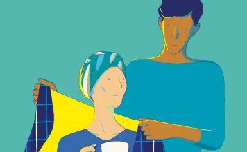 Certains époux de femmes touchées par le cancer se battent pour elles - roseup association