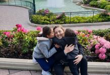 Mélanie a pu compter sur l'amour de ses enfants pour lutter contre son cancer du rein - roseup association