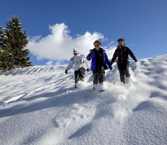 Les sports d'hiver ne se limite pas au ski - roseup association - face aux cancers osons la vie