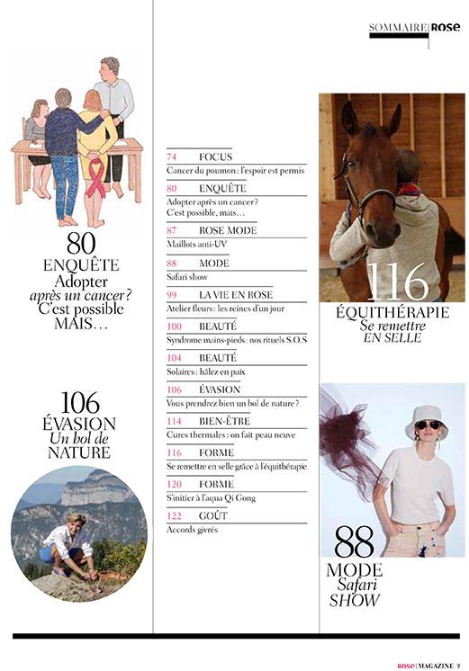 SOMMAIRE2 Rose magazine 18