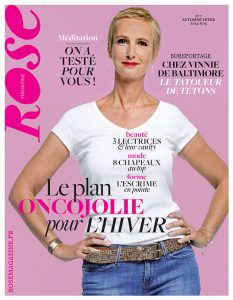 Couverture rose magazine 7-recto-Florence-Houriez