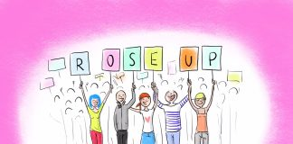 Carte-voeux-Roseup-2019-RoseUp association Rose Magazine