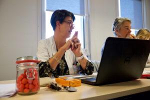 Atelier oncogite roseup association Rose magazine Face aux cancers osons la vie