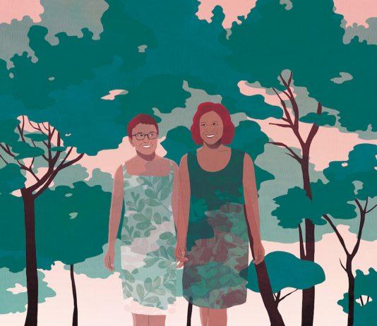 Catherine et sa mère sont touchées par un cancer du sein à deux semaines d'intervalle. Son aventure lui a inspiré l'écriture de Nos deux seins : leur récit-RoseUp Association Face aux cancers osons la vie-Yasmina Gateau