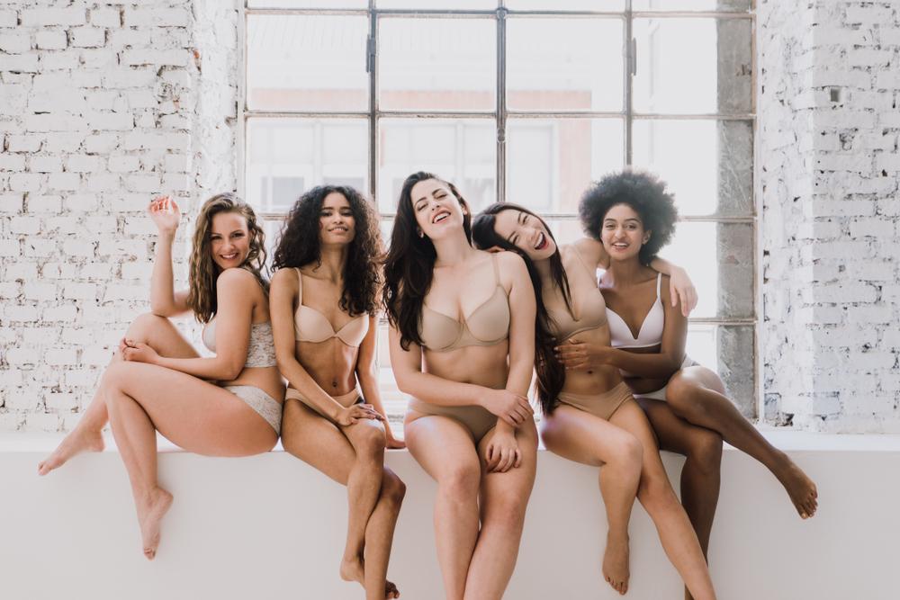 Sexy en lingerie post-opératoire !