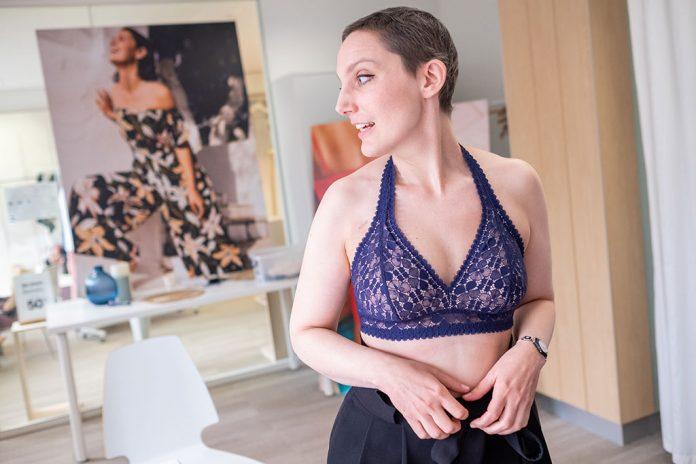 Princesse Tam Tam a créé une ligne de lingerie adaptée aux femmes mastectomisées - roseup association - rosemagazine - face aux cancers osons la vie