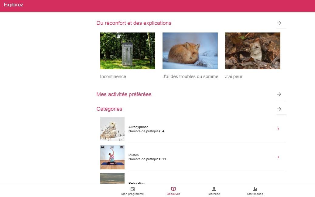 Rendre accessible des soins de support à toutes via une application web gratuite, c'est le concept de MyCharlotte - roseup assocation - rosemagazine